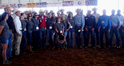 Danny Dietz Roping group picture