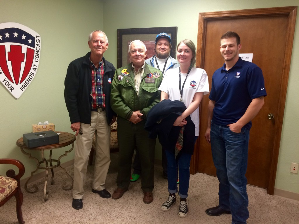 Camp Hope Donation - David Maulsby, Capt. Mehrmann, other randoms